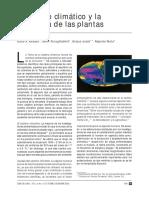 El Cambio Climatico y La Fenologia de Las Plantas