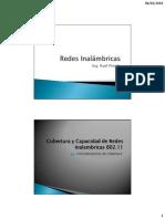 Clase No.3 - Cobertura y Capacidad en Redes Inalambricas 802.11 (Ing. Raul Pineda)