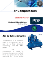 Air or Gas Compressor