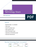 Big Data Technology Stack