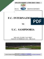 2015-16 Internazionale Sampdoria