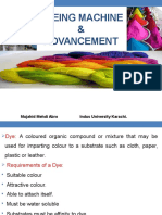 Dyeing Machines and Advancement
