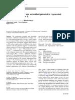 7 Efficient regeneration and antioxidant potential in regenerated tissues of Piper nigrum L.