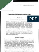 Consciousness Causality and Quantum Physics by David Pratt