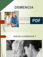 Diapositivas de Demencias. (1)