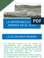 Importancia de La Mineria