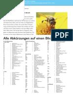 TUI Brochüre-Alle Abkürzungen Auf Einen Blick