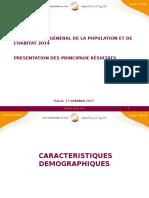 Recensement Maroc 2014
