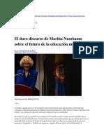 Nussbaum(2015)DiscursoEducaciónEnUdeColombia