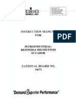 Instruction Manual for National Board 16671