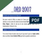 Entorno de Trabajo de Word 2007