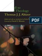 Thomas J. J. Altizer - The Call to Radical Theology