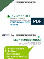Taklimat Rancangan Pengajaran Harian KSSR PSV TAHUN 6-2015