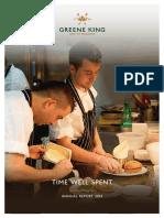Greene King Annual Report 2014