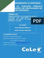 Tema. 51. Repercusiones de La IIGM.
