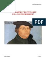 La riforma protestante e la controriforma