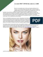Descargar Libros Sin coste PDF Y EPUB Sin coste ▷ 2.000 Ebooks!