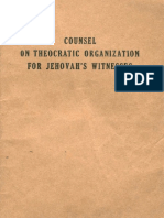 Counsel on Theocratic Organization For Jehovah's Witnesses, 1949