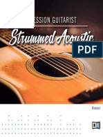 Session Guitarist - Strummed Acoustic Manual English