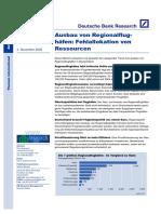 DeutscheBank Studie Regionalflughafen