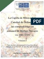 La Capilla de Música de la Catedral de Orihuela.