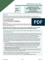 Child Benefits Form (1)