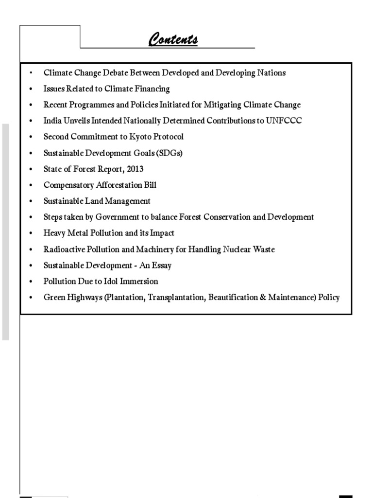 Environment Current Affairs Ias Mains  Kyoto Protocol  Climate  Environment Current Affairs Ias Mains  Kyoto Protocol  Climate Change  Mitigation High School Memories Essay also Essay In English  Analytical Essay Thesis Example