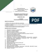 Programa Química I Undécimo Vigente 2015