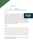 Celso Furtado - Notas Sobre Formação Nacional e as Conexões Entre Dependência e Subdesenvolvimeno - Carlos Vieira