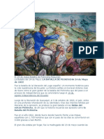 El 24 de mayo Batalla de Pichincha Resumen.docx