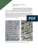 Murallas de Sillares de Ciudades y Fortalezas Iberomusulnanas