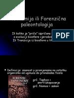 paleoekologija