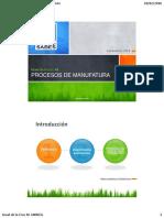 Procesos de Manufactura - Módulo 1