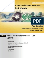 ANSYS Offshore Products 14-0 Update - Schofield (1)