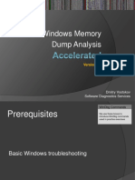 Accelerated Windows Memory Dump Analysis Public