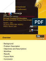 2008 Int ANSYS Conf Strongly Coupled Fsi Sim