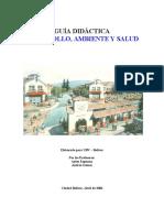 GuiaDidacticaDesarrollo,AmbienteySalud