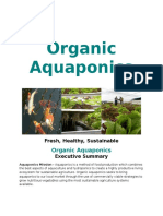 Generic Organic Aquaponics Business Plan 102111