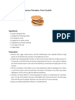 Luscious Pancakes