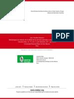 Metodologías de Medición de La Calidad de Los Servicios Aplicadas a Una Biblioteca Universitaria