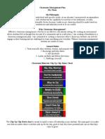 olson nicole classroom management plan