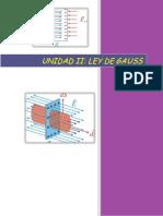 Unidad II Ley de Gauss