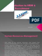 Recruitment 2013