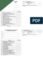 Checklist Panum Kaplan