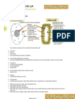 Biology Notes for O Level