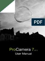 ProCamera7 Manual Download