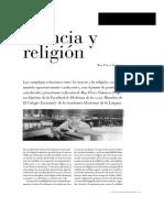 Ciencia y Religión-Ruy Pérez Tamayo