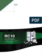 RC10. Guía de Producto. Accesorios Cubículo de Control y Comunicaciones RC10