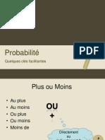 Clés - Probabilité
