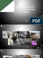 Consecuencias Delos Procesos Técnicos en Ecosistemas